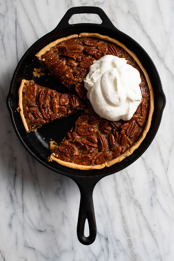 Apple Brandy Candied Pecan Pie
