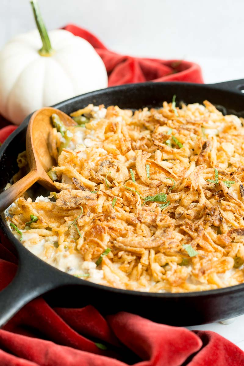 Ground Turkey Green Bean Casserole