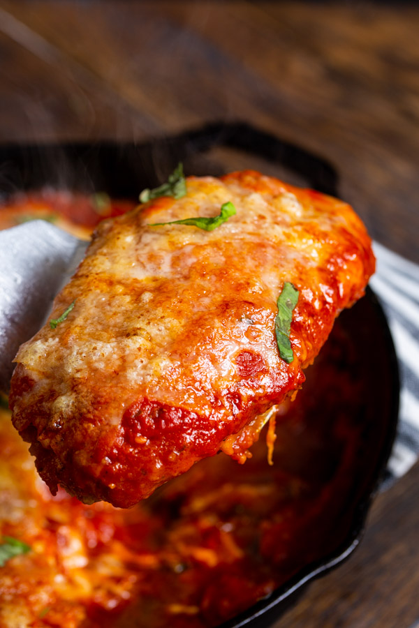 Easy Skillet Chicken Parmesan Recipe