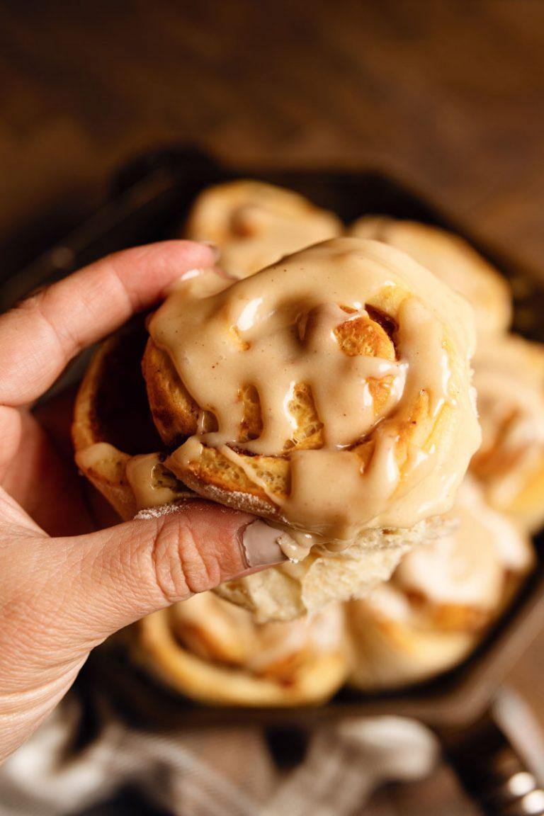Apple Butter Cinnamon Rolls (Sweet Rolls)